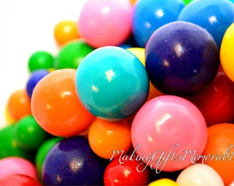 Gumballs Photograph That Can Be Personalized