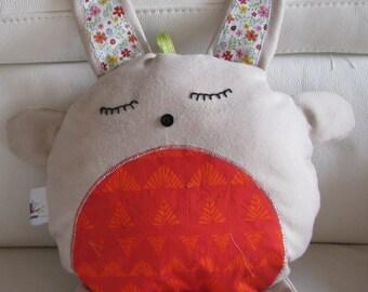 CUDDLY plush Arthur musical Bunny zipper pillow