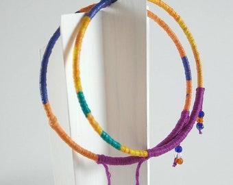 JEWEL TONED redesigned vintage bangles