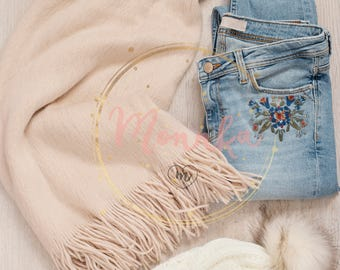Styled Stock Photo. Women Clothes Collage. Fashion Blogger Resources. Shopping Concept. Fashion Set Outfits