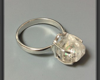 Herkimer ring, US size 8