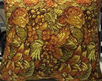 Golden Autumn pillow