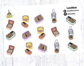 Lunchbox Sticker Set