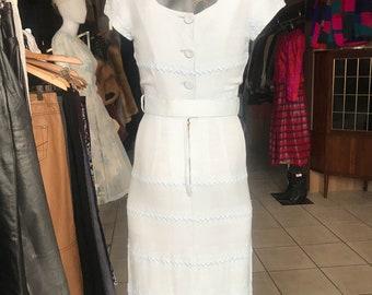 Stunning 1940s Day Dress