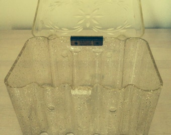 1950's translucent sparkly lucite bag by Theresa Bag Co.
