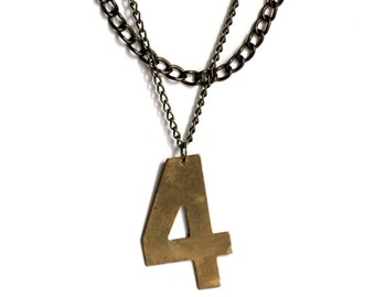 Lucky Number Necklace - No. 4