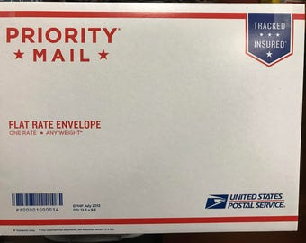 Priority Flat Rate Mail for Reshipping