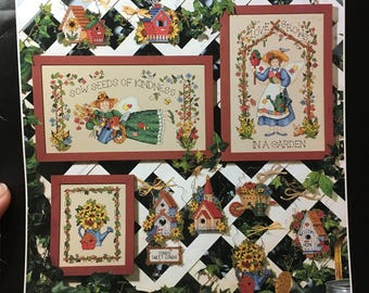 Dimensions The Gardener's Delight by Barabara Mock Cross Stitch Pattern
