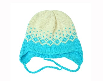 hand knitted baby hat, baby hat, baby gift, knit hat for baby, gift for baby, baby shower gift
