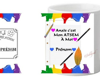 Cup Mug home personalized with name fine gift ' year