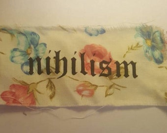 Floral Nihilism Patch