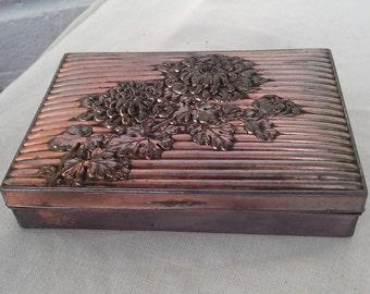Pewter  Trinket Tin / Box