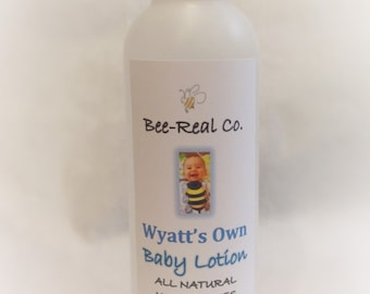 All Natural Baby Lotion
