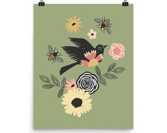 Gypsy Bird - Archival Quality Print