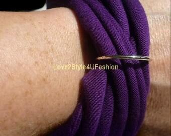 Purple Bracelet, Women Purple Jewelry, Gift For Her, Holiday, Womens Jewelry, Birthday Gift, Arm Candy, Woven Bracelet, Boho Bracelet, Gifts