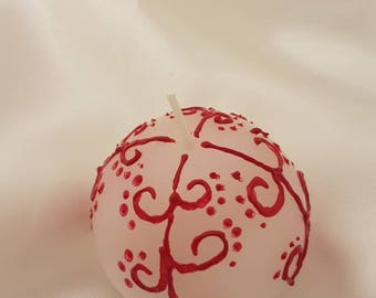 Small ball candle