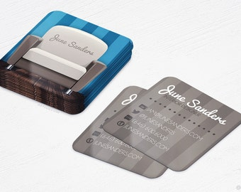 Mini Interior Designer Cards - Furniture Store - Square Business Cards - Design and Printing - 250, 500, 1000, 2500 | FREE Shipping |