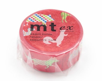 mt ex masking tape - animal dots - single