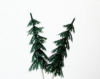 Pine Tree Cupcake Picks (12)