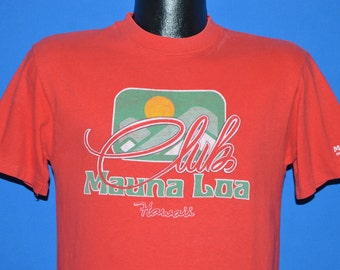 80s Mauna Loa Club Hawaii Sunset t-shirt Medium