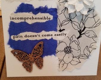 Poetry Art Card #7