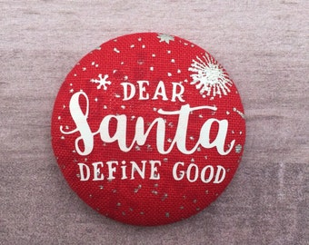 Dear Santa    - Button Add on