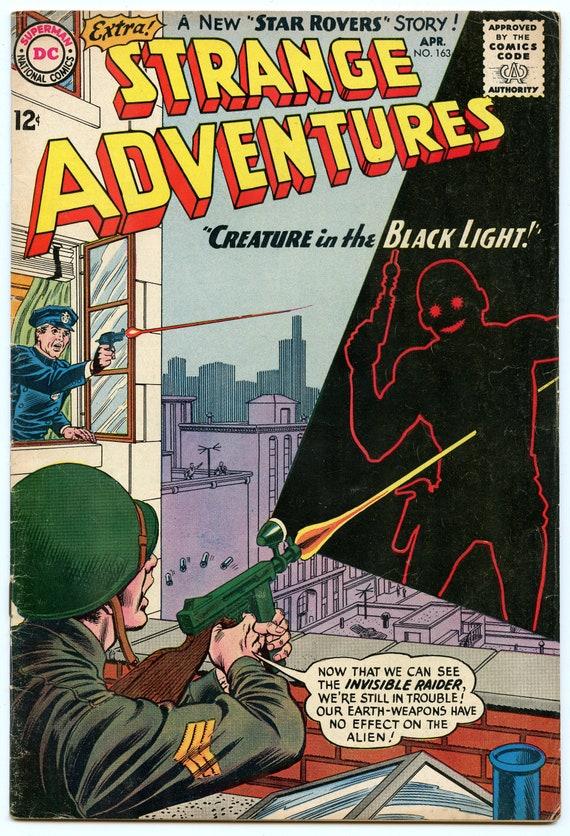 Strange Adventures 163 Apr 1964 VG-FI (5.0)