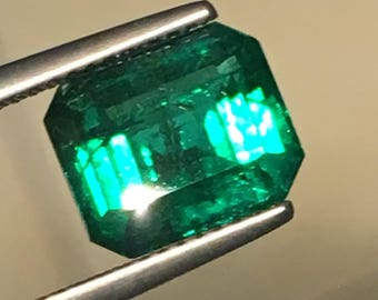 Natural Emerald GIA 3.55ct Zambia