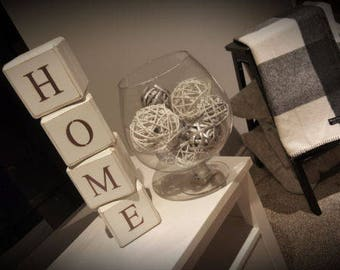 Home Decor Cubes (set of 4)
