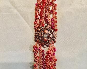 Pink Fleur Bracelet