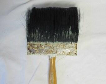 Paint Brush, HUGE, Wood Handle, TYNEX Nylon