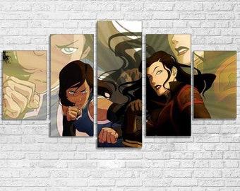 Legend of Korra 5pc Canvas Set