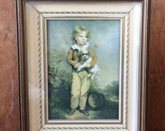 "Vintage Arthur William Devis Print | ""Good Companions"" Print 