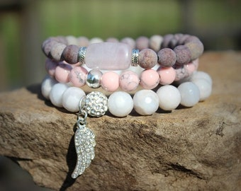 Chakra Bracelet set Guardian of Heart