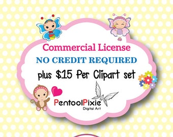 PentoolPixie Commercial use License - No Credit Required