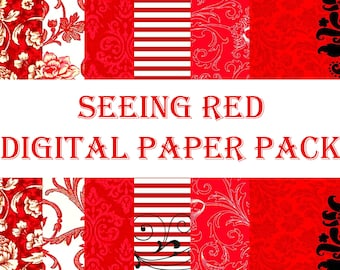 Seeing Red Mini Paper Pack