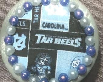 University of North Carolina Tar Heels Retractable Badge/ID Holder