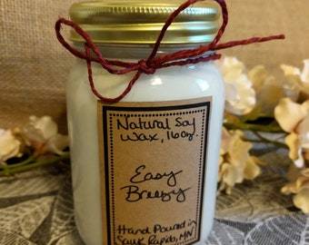 Easy Breezy - 16 ounce Natural Soy Wax Candle