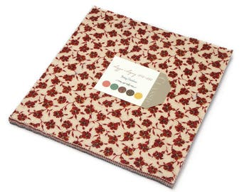 """Moda LIZZIE'S LEGACY 1850-1880 Layer Cake 31510LC 10"""" x 10"""" Quilt Fabric Squares"""