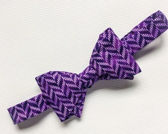 Purple Bow Tie, Purple Patterned Bow Tie, Mens Bow Ties, Mix and Match Bow Ties, Purple Bow Ties, Groomsmen Bow Ties, Wedding Ties, Purple