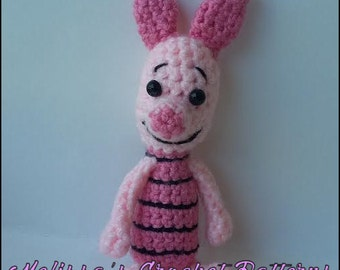 Crochet Pattern - Piglet