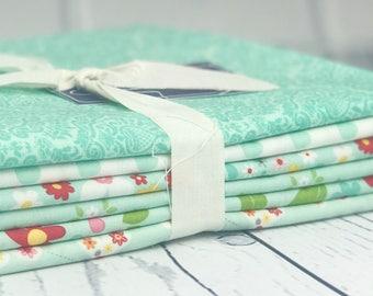 Garden Girl One Yard Fabric Bundle - Riley Blake Designs - 6 pieces