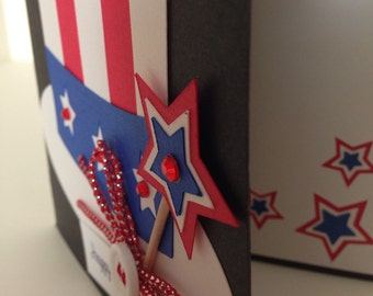 4th of July Card or for a birthday on the 4th