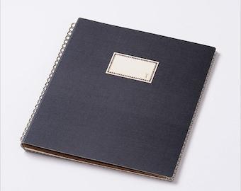 Travel journal, Scrapbook photo album, Xmas Gift for her, Trip memory book, Maternity Album, Baby book, Japanese Scrapbooking album