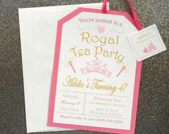Little Girl's Pink Royal Princess Tea Party