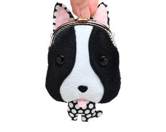 French bulldog 'Chikuwa' coin purse