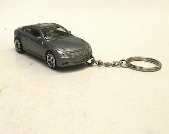 Infiniti G37 Coupe keychain, Die Cast keychain, Sports Car, Mens or Womens keychain, Mens or Womens gift