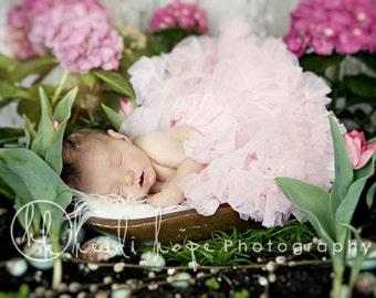 Newborn Baby Pink Pettiskirt Tutu