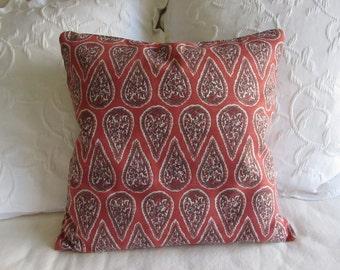 Anya Geranium decorative Pillow Cover 18x18 20x20 22x22 24x24 26x26