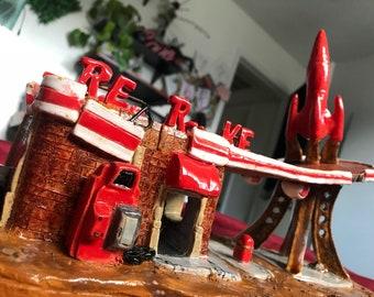 Fallout 4 Red Rocket Ceramic Replica